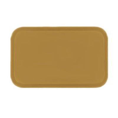 Carlisle 3753FG023 Rectangular Cafeteria Tray - 53x37cm, Gold