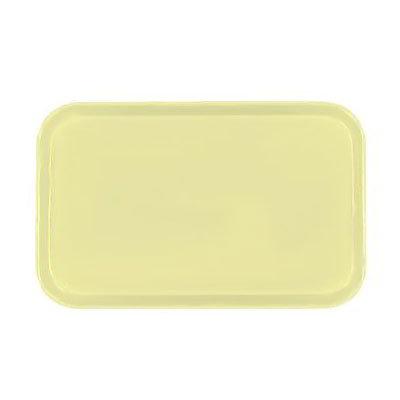 Carlisle 3753FG024 Rectangular Cafeteria Tray - 53x37cm, Lemon