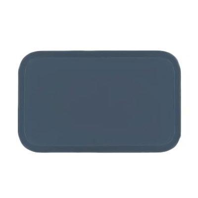 Carlisle 3753FG067 Rectangular Cafeteria Tray - 53x37cm, Slate Blue