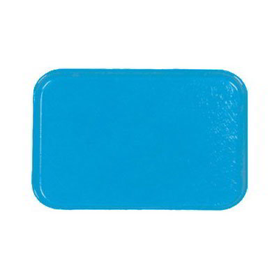 Carlisle 3753FG97003 Rectangular Cafeteria Tray - 53x37cm, Pacific Blue