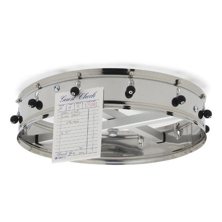 Carlisle 381CH Ceiling-Hung Mounting Plate - Stainless