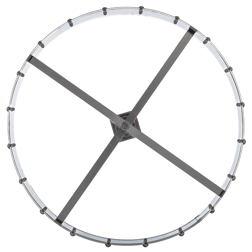 "Carlisle 3820CH 23"" Order Wheel - Ceiling-Mount, Stainless"