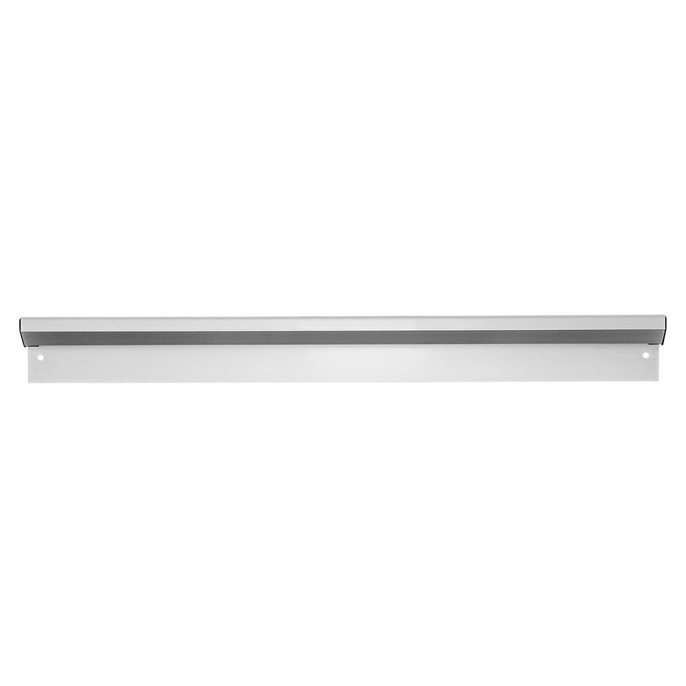 "Carlisle 38240A 24"" Slide Order Rack - Wall-Mount, Aluminum"