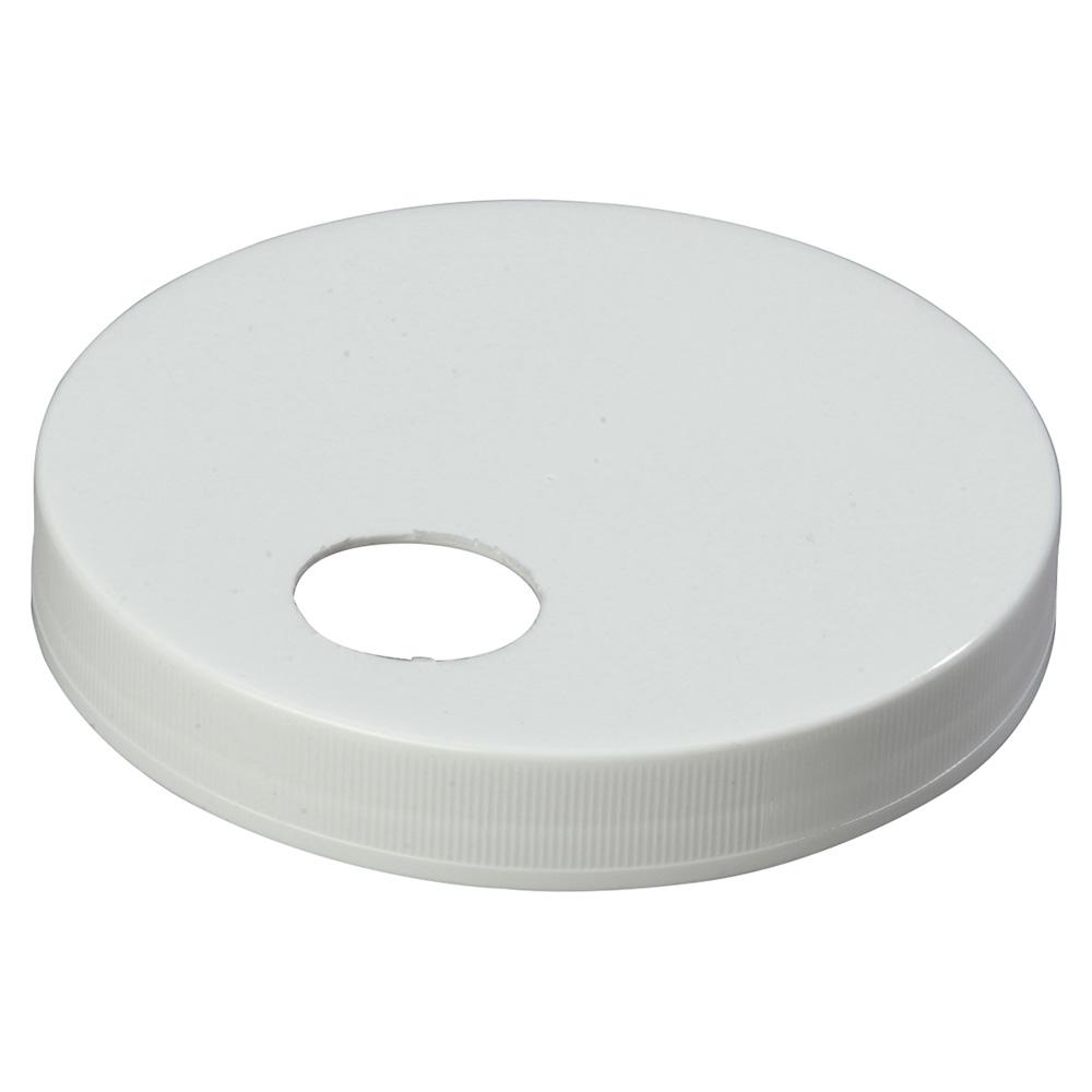 """Carlisle 38310120 4.72"""" Pump Dispenser Cap - Plastic, White"""