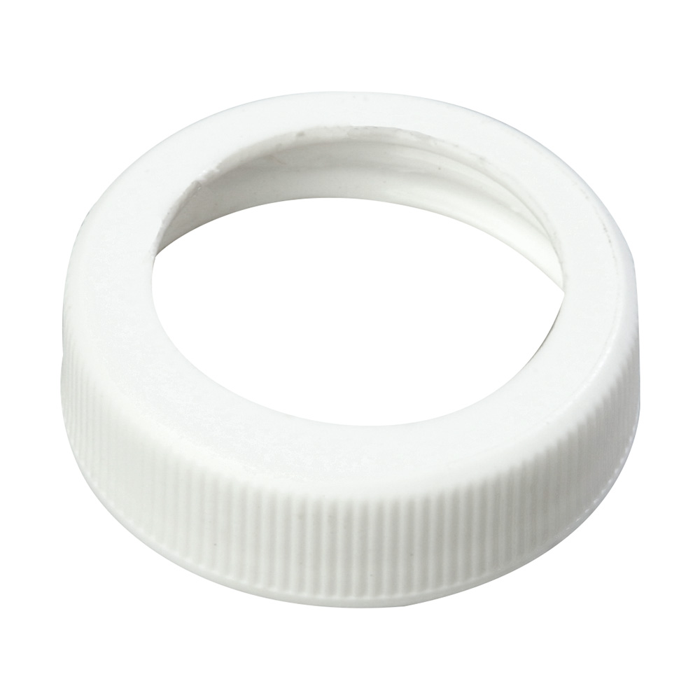 "Carlisle 3831038 1.49"" Pump Dispenser Cap - Plastic, White"