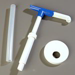 Carlisle 38410110SP Pump Kit with Maxi Pump & 4-5/16 in Lid, 4 in Dip Tube