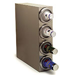 Carlisle 38884G Cup Dispenser Cabinet - 4-Spring Loaded Tubes, Stainless