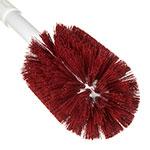 "Carlisle 4000505 16"" Multi Purpose Valve/Fitting Brush - Poly/Plastic, Red"
