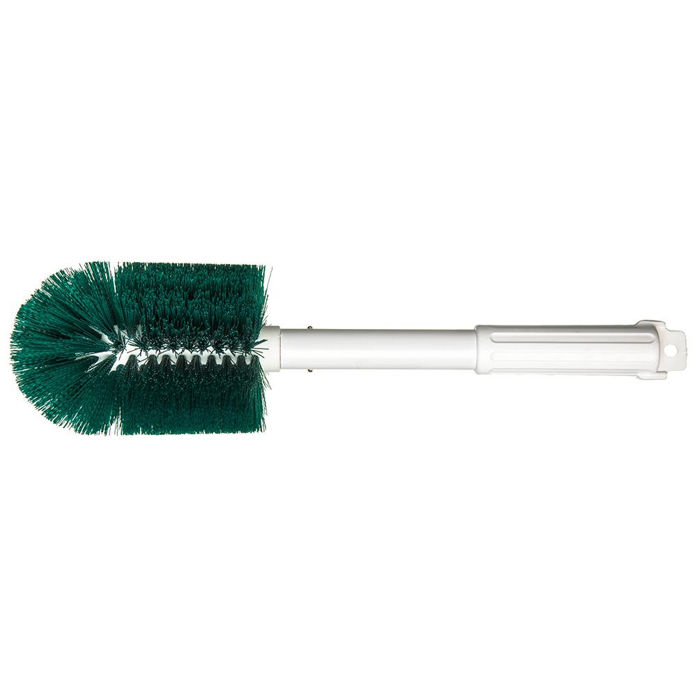 """Carlisle 4000509 16"""" Multi Purpose Valve/Fitting Brush - Poly/Plastic, Green"""