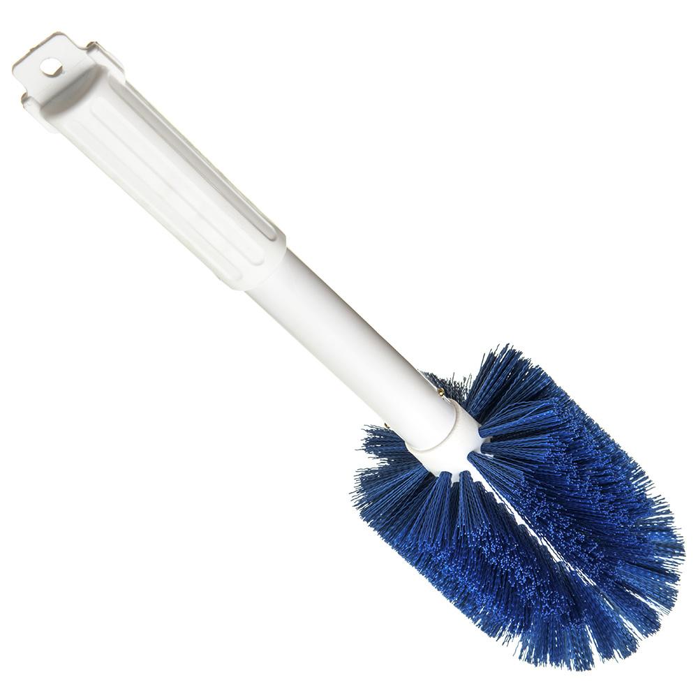 """Carlisle 4000514 16"""" Multi Purpose Valve/Fitting Brush - Poly/Plastic, Blue"""