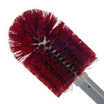 "Carlisle 4000705 30"" Valve/Fitting Brush - Plastic/Polyester, White/Red"