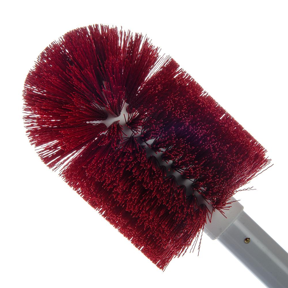 """Carlisle 4000705 30"""" Valve/Fitting Brush - Plastic/Polyester, White/Red"""