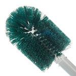 """Carlisle 4000709 30"""" Valve/Fitting Brush - Plastic/Polyester, White/Green"""
