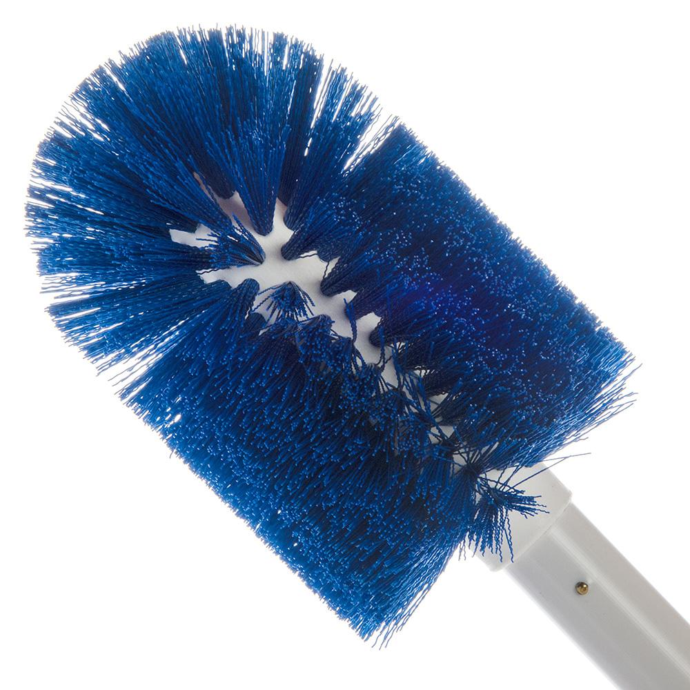 "Carlisle 4000714 30"" Valve/Fitting Brush - Plastic/Polyester, White/Blue"