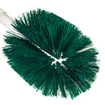 "Carlisle 4001009 30"" Round Multi Purpose Valve/Fitting Brush - Poly, Green"