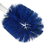 "Carlisle 4001014 30"" Round Multi Purpose Valve/Fitting Brush - Poly, Blue"