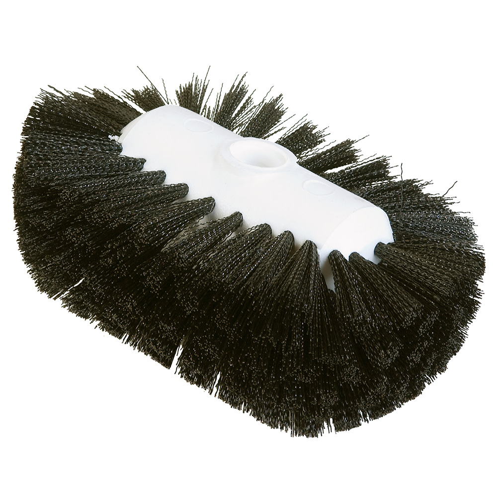 "Carlisle 4004103 7-1/2"" Tank/Kettle Brush Head - Nylon/Plastic, Black"