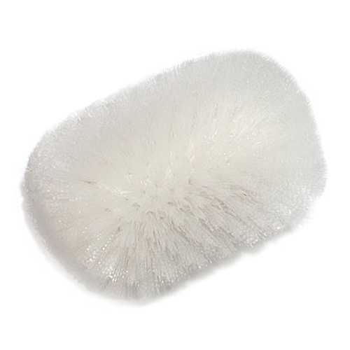 "Carlisle 4004302 9-1/2"" Tank/Kettle Brush Head - Nylon/Plastic, White"