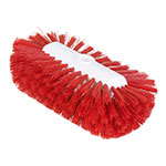 "Carlisle 4004305 9-1/2"" Tank/Kettle Brush Head - Nylon/Plastic, Red"