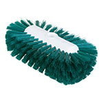 "Carlisle 4004309 9-1/2"" Tank/Kettle Brush Head - Nylon/Plastic, Green"