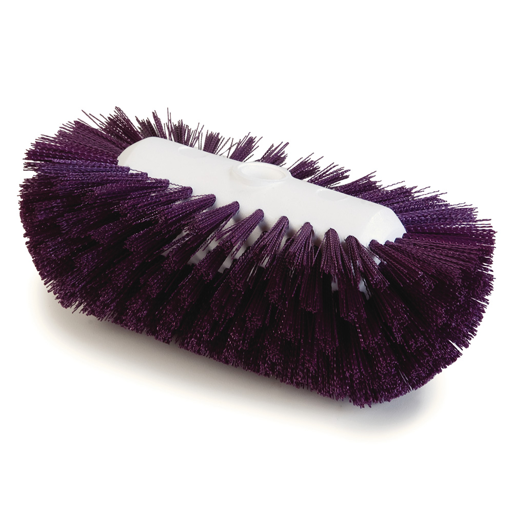 "Carlisle 4004368 9-1/2"" Tank/Kettle Brush Head - Nylon/Plastic, Purple"