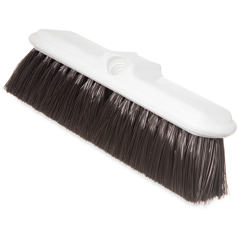 "Carlisle 4005001 9-1/2"" Wall Brush - Nylex/Plastic, Brown"