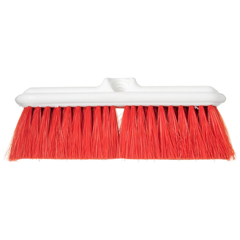 """Carlisle 4005005 9-1/2"""" Wall Brush - Nylex/Plastic, Red"""