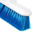 "Carlisle 4005014 9-1/2"" Wall Brush - Nylex/Plastic, Blue"