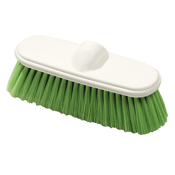 "Carlisle 4005075 9-1/2"" Wall Brush - Nylex/Plastic, Green"