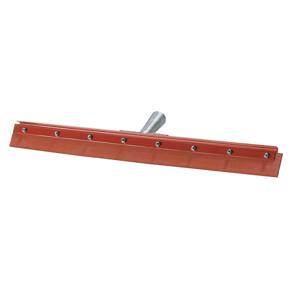 "Carlisle 4007500 18"" Floor Squeegee, Red Gum Rubber, w/o Handle"
