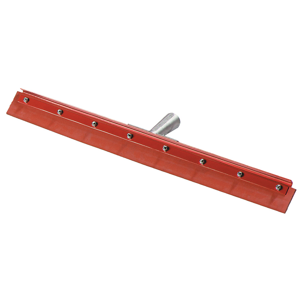 "Carlisle 4007600 24"" Floor Squeegee, Red Gum Rubber, w/o Handle"