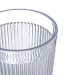 Carlisle 400807 8-oz Stack-All Tumbler - Clear