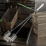 """Carlisle 4011200 24"""" Fryer Brush - Teflon/Plastic"""
