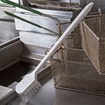 """Carlisle 4011300 20"""" Utility Brush - Teflon/Plastic"""