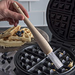 """Carlisle 4011500 9-1/2"""" Waffle Iron Brush - Teflon/Plastic"""