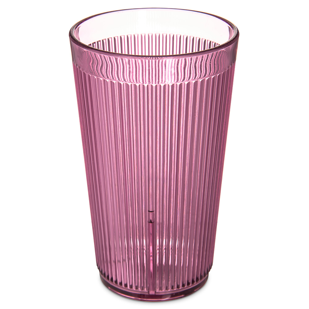 Carlisle 401255 12-oz Stack-All Tumbler - Rose