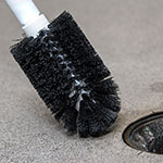"Carlisle 4014600 Sparta Floor Drain Brush, 3"" Black Bristles, Plastic, No Handle"