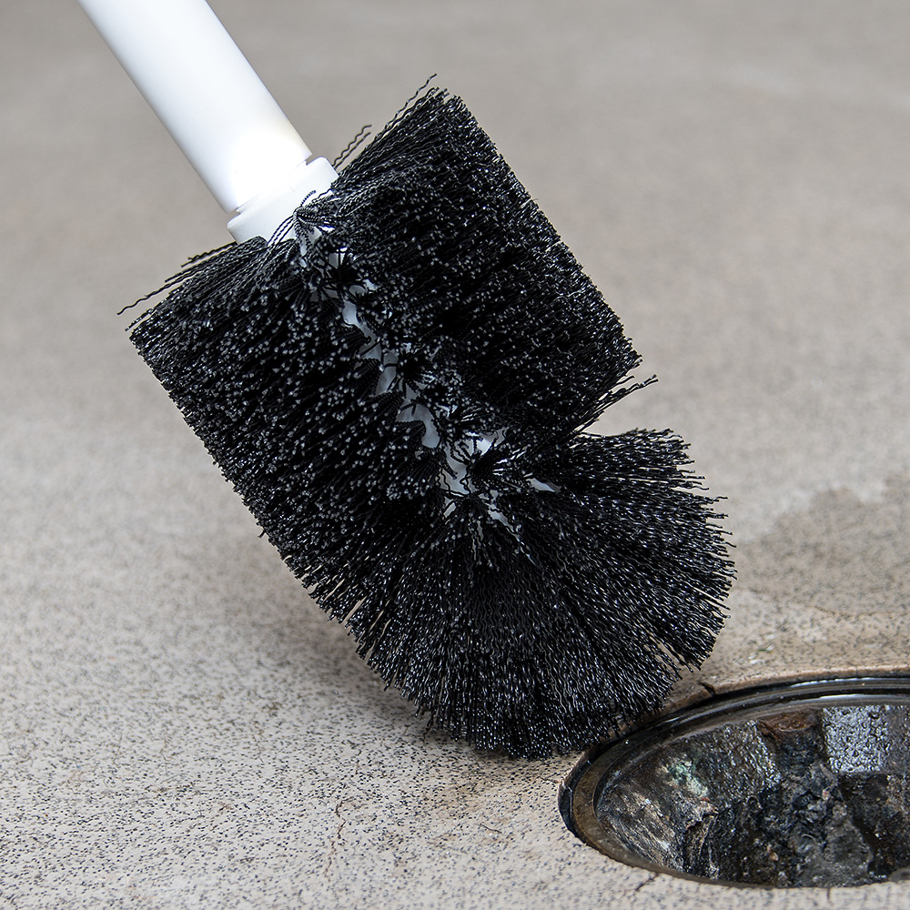"Carlisle 4014700 5-3/4"" Floor Drain Brush Head - Poly"