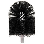 "Carlisle 4014800 6-3/4"" Floor Drain Brush Head - Poly, Black"