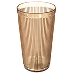 Carlisle 402013 20-oz Old Fashion Tumbler - Amber