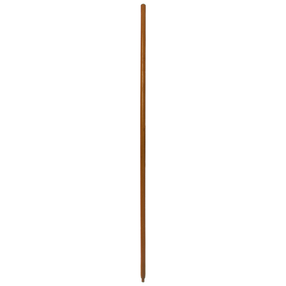 """Carlisle 4026700 60"""" Handle Replacement - Threaded, Lacquered, Hardwood"""