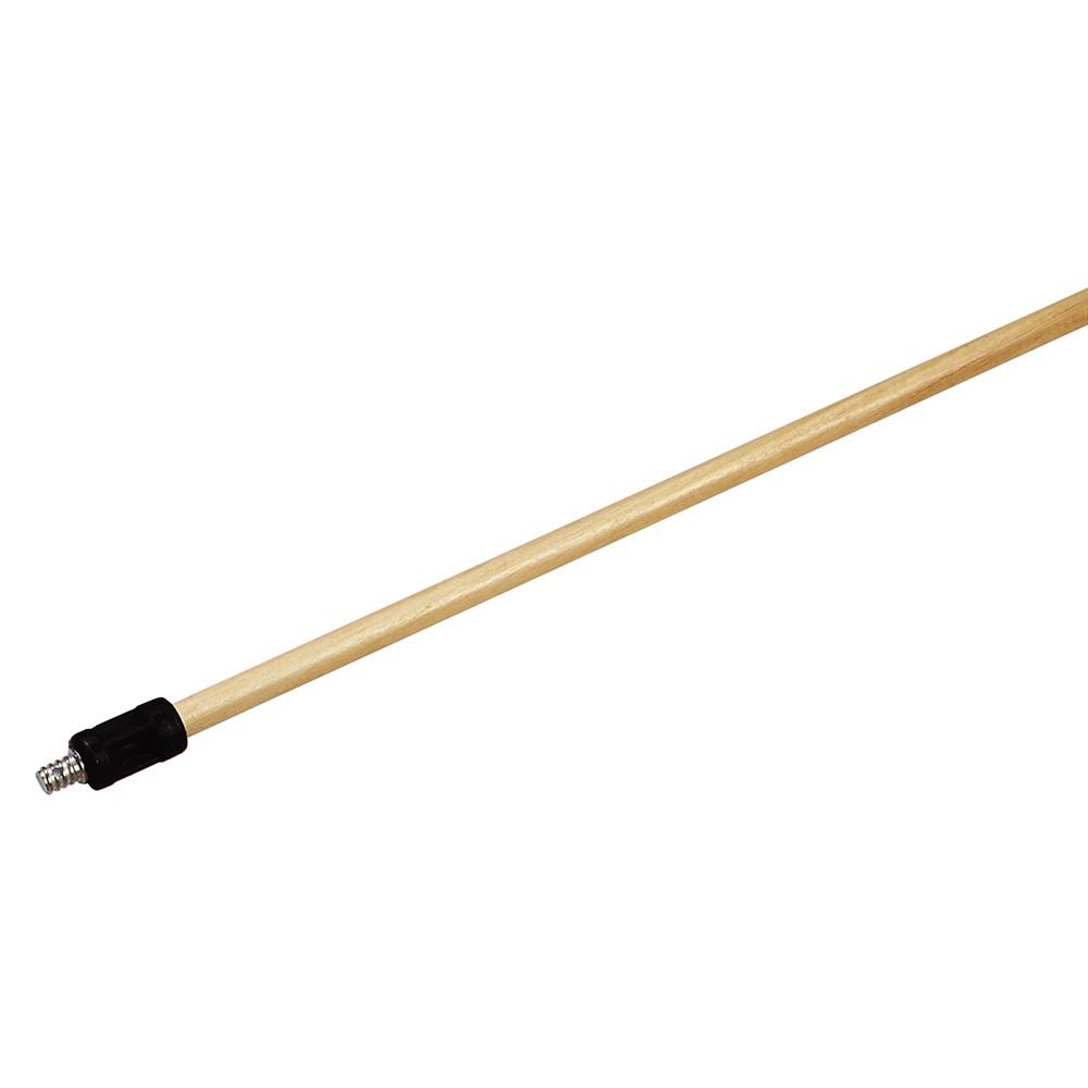 "Carlisle 4028100 54"" Flex-All Adapter - Wood Handle"