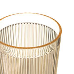 Carlisle 403322 12-oz RimGlow Tumbler - Polycarbonate, Honey Yellow