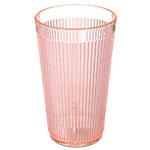 Carlisle 403352 12-oz RimGlow Tumbler - Polycarbonate, Sunset Orange