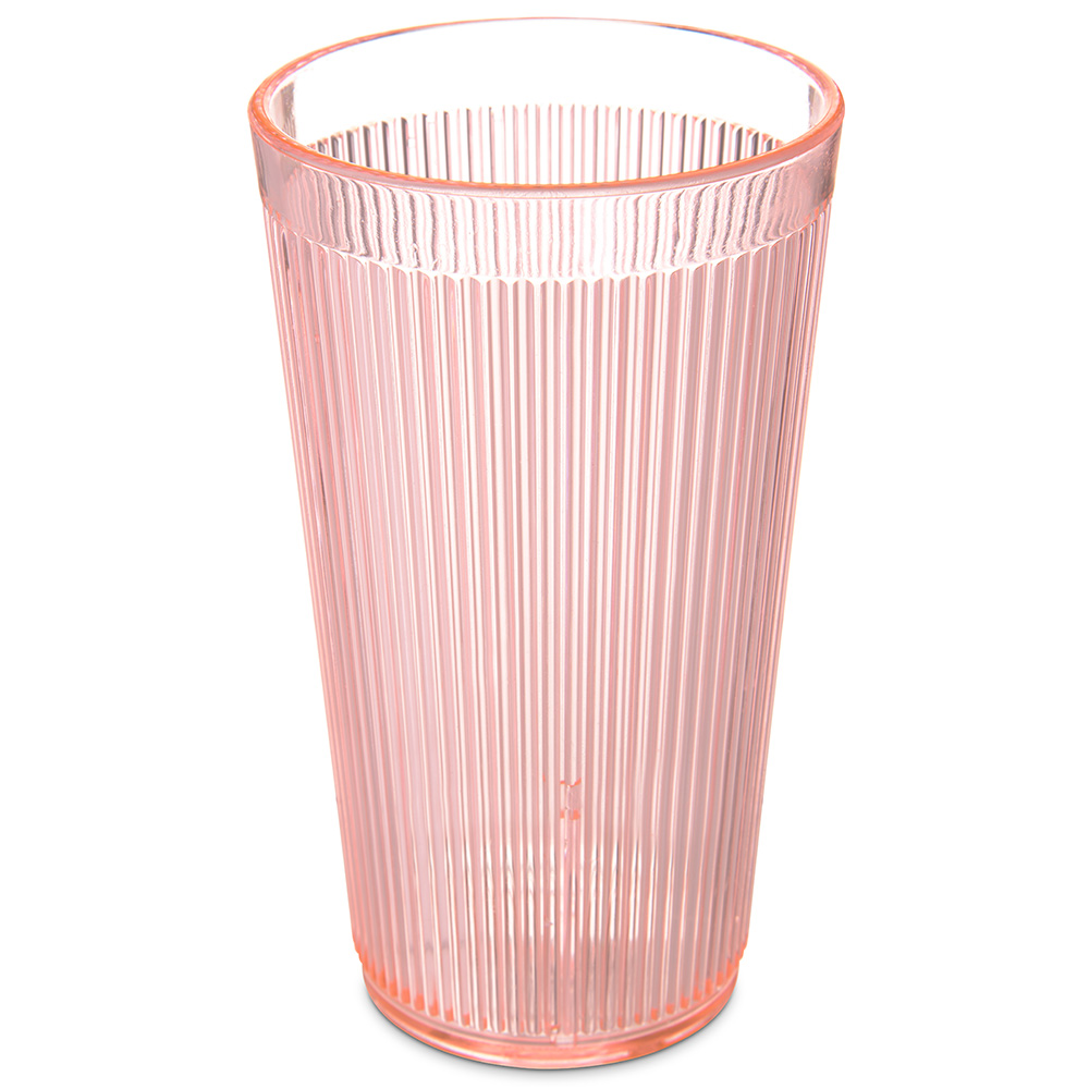 Carlisle 403452 16-oz RimGlow Tumbler - Sunset Orange