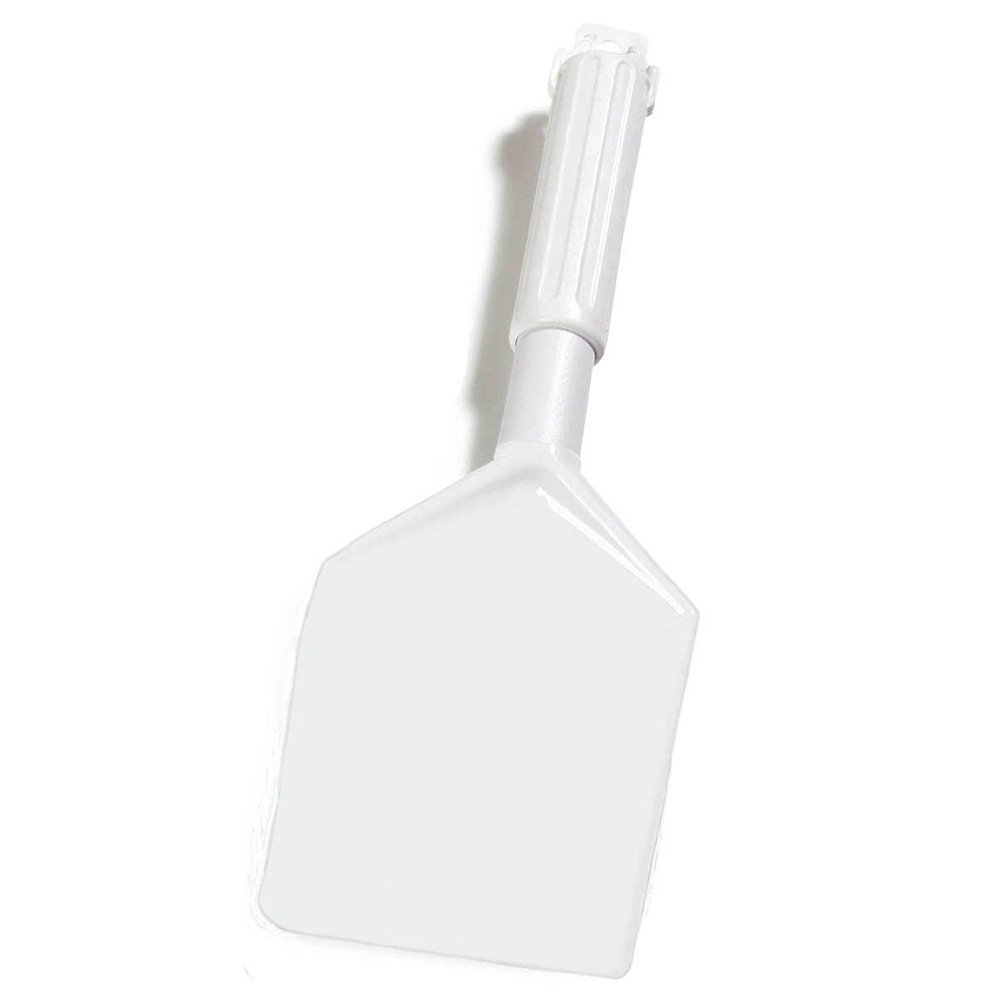 "Carlisle 4035002 13-1/2"" Spatula - Plastic/Nylon, White"