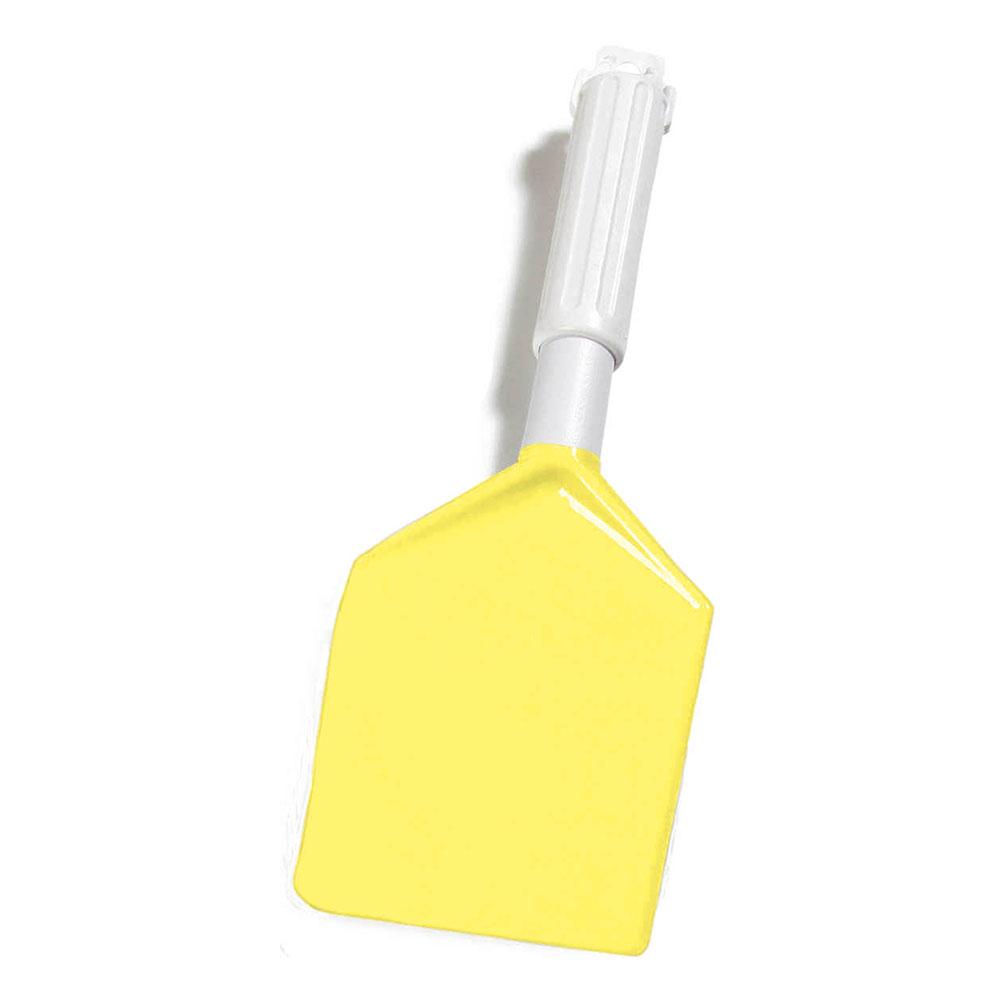"Carlisle 4035004 13-1/2"" Spatula - Plastic/Nylon, Yellow"