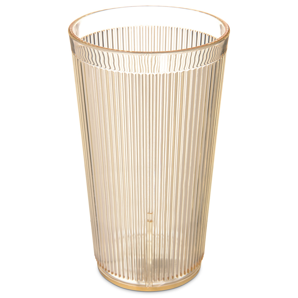 Carlisle 403522 20-oz RimGlow Tumbler - Honey Yellow