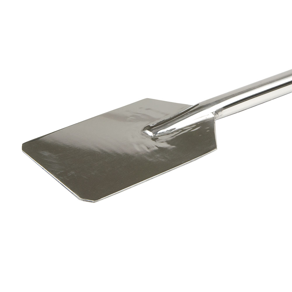 "Carlisle 40359 60"" Paddle Scraper - 7-1/2 Tapered Blade, Stainless Steel"