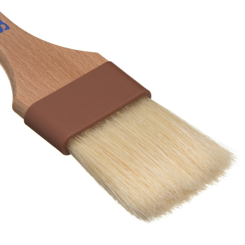 """Carlisle 4037400 Basting Brush - 2"""" Bristles, Brown"""